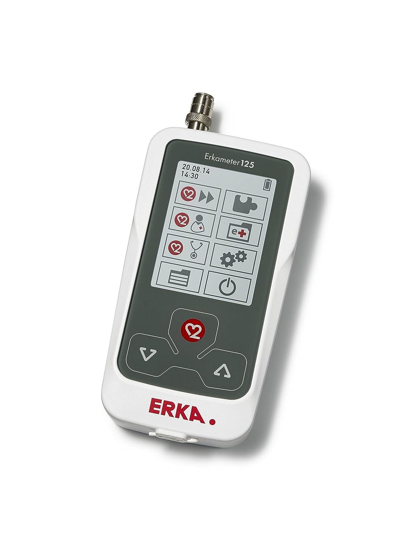 ERKA Erkameter 125 Pr Medición de la Presión Arterial Electrónica, con Green Cuff Smart Rapid, Talla 4, Gris: Amazon.es: Industria, empresas y ciencia