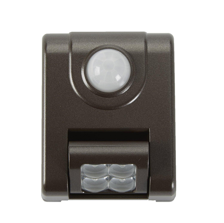 Light It! By Fulcrum, LED Wireless Motion Sensor Light, Bronze