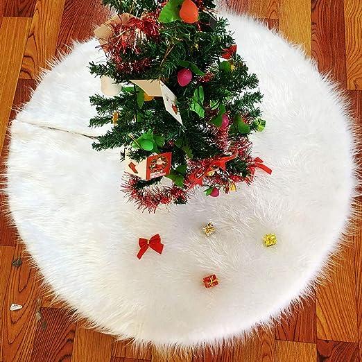 Manta decorativa para pie de árbol de Navidad de Ieve, 90 cm ...