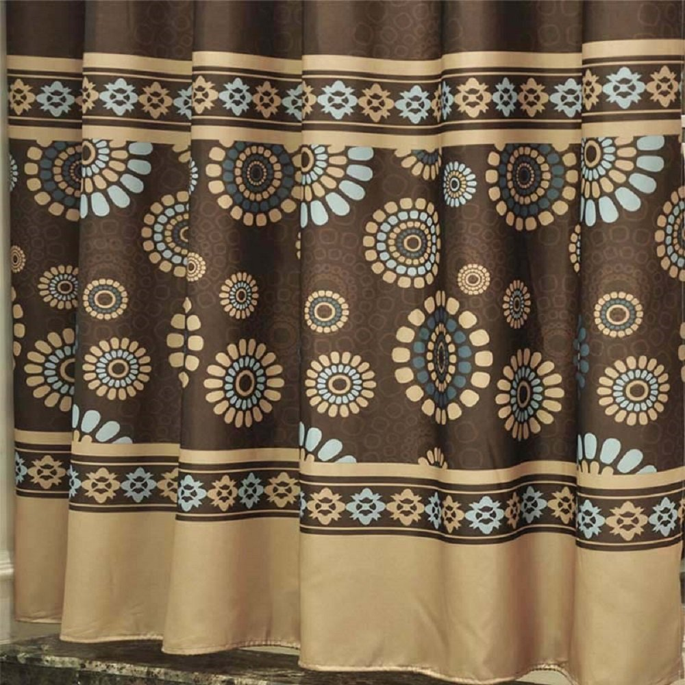 DETAILS Ufaitheart 54 X 72 Shower Stall Curtain