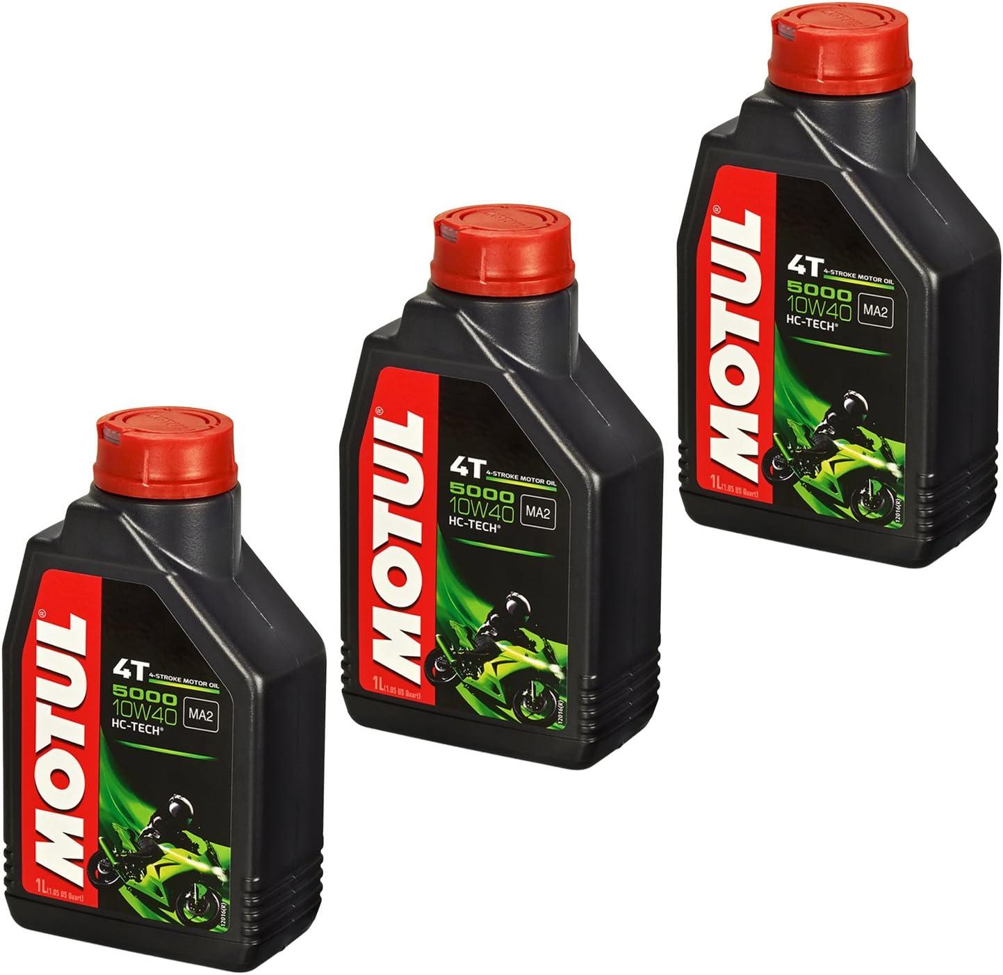 Motul 10w 40 Öl Hiflo Ölfilter Für Honda Cb 1000 R 08 15 Sc60 Ölwechselset Inkl Motoröl Filter Dichtring Auto