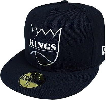 3eea478124e New Era Sacramento Kings HWC NBA Black White 59fifty Fitted Cap Limited  Edition  Amazon.co.uk  Clothing