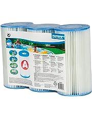 Intex 29003 Cartuccia Filtro per Pompe Filtro Clorinatore Combo, Confezione da 3 Cartucce