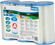 Kit 03 Cartuchos Refil Tipo A Filtro Intex Bomba 2006 3785