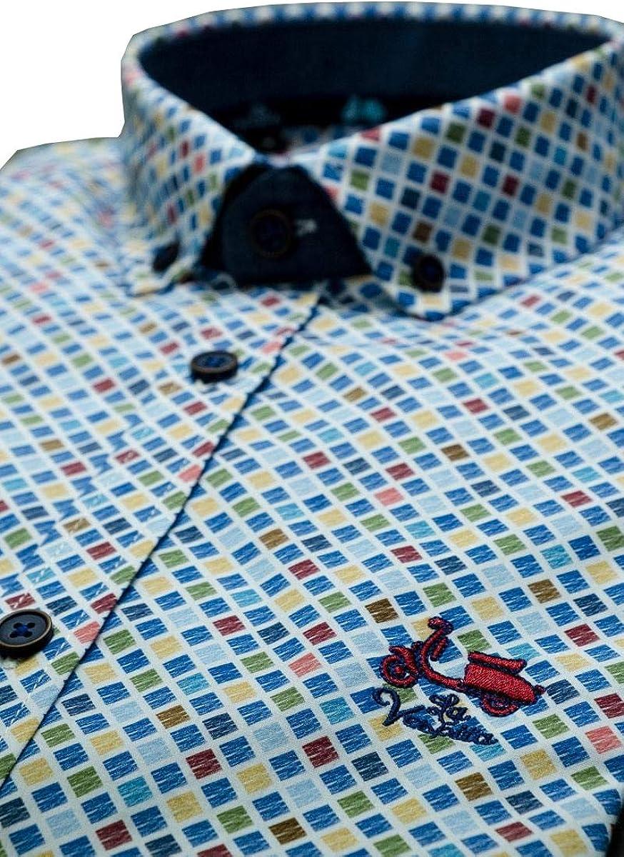 La Vespita Camisa con patrón de Cuadros y Logo Vespa: Amazon.es: Ropa y accesorios