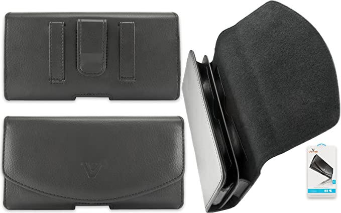 sports shoes b1c30 3c9d5 Premium Cell Phone Pouch Double Decker Fits 2 iPhone 7, iPhone 6, 6S ...
