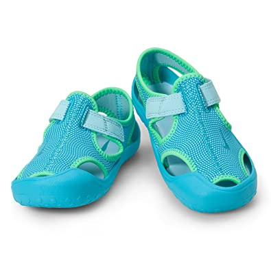 cc98c5f94 Nike Girls Sunray Protect (PS) Beach & Pool Shoes Still Chlorine Blue -Electro