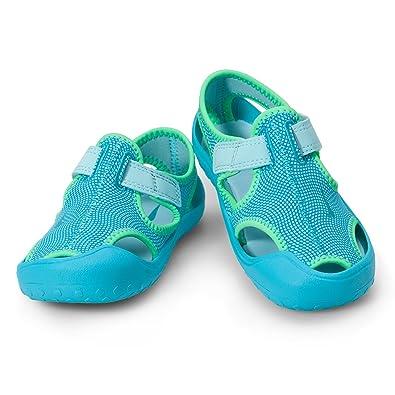 ab2a723a60c Nike Mädchen Sunray Protect (ps) Dusch-& Badeschuhe, Blau (Still Chlorine