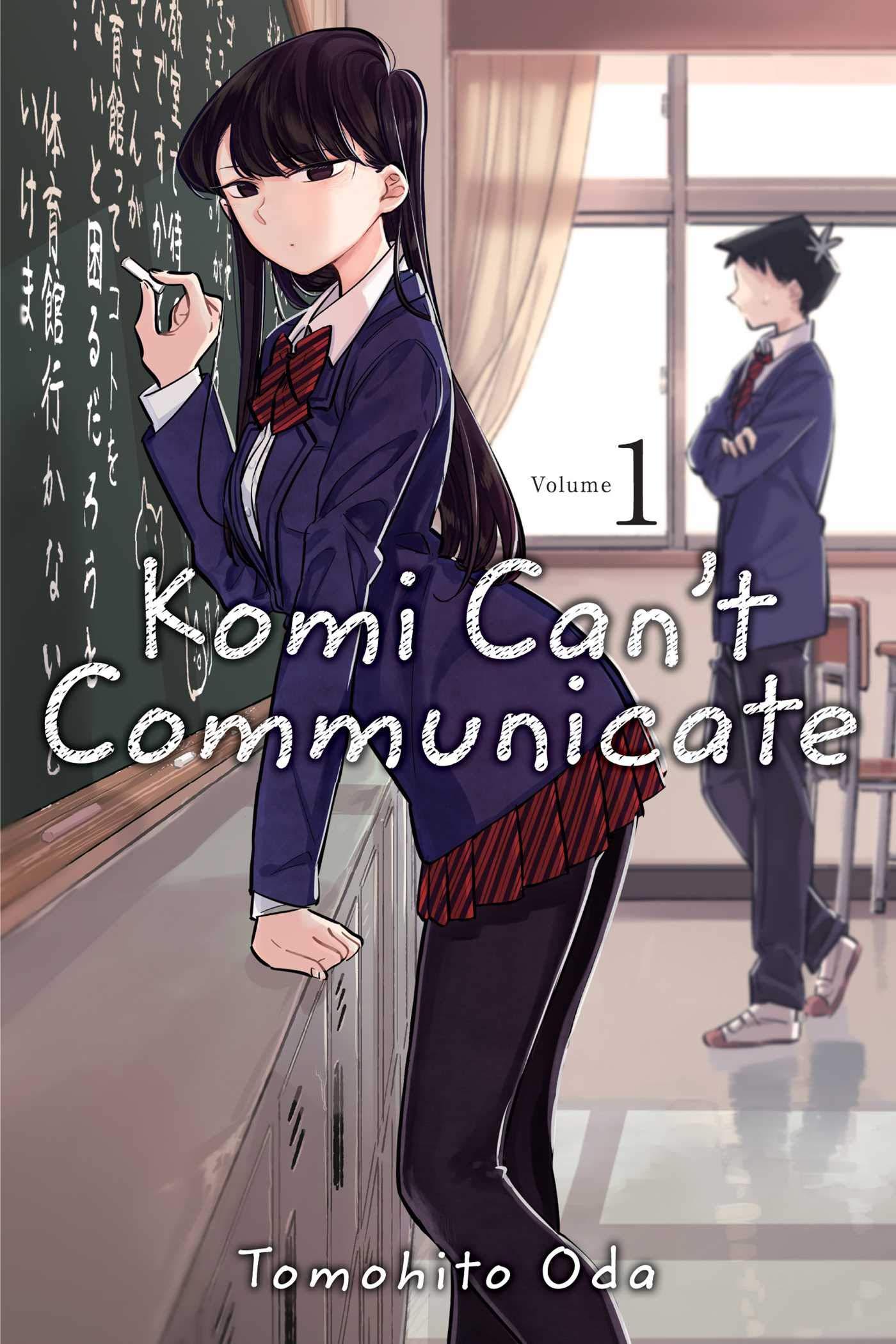 Amazon.com: Komi Can't Communicate, Vol. 1 (1) (9781974707126): Oda,  Tomohito: Books
