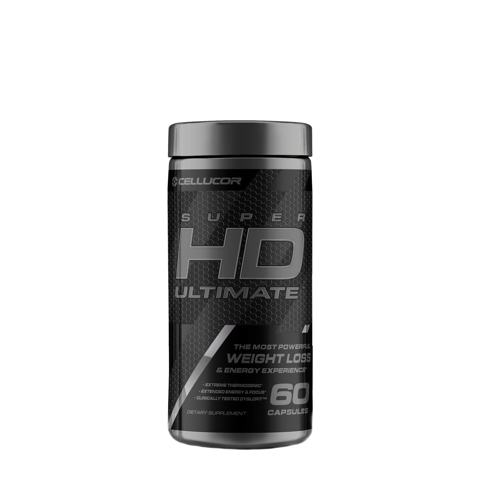 Cellucor, SuperHD Ultimate, The Most Powerful Weight Loss & Energy Experience, 60 Count