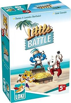 Little Battle (Loki), Juego de Mesa, Juegos de Mesa para niños, Juego Educativo, Juegos niños: Amazon.es: Juguetes y juegos