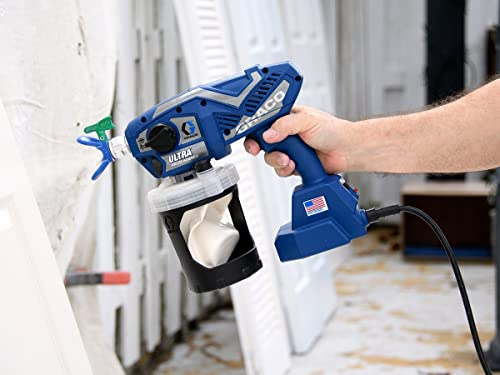 Using Graco Ultra is the fastest Way to finish small jobs and makes it become one of the best sprayer for furniture