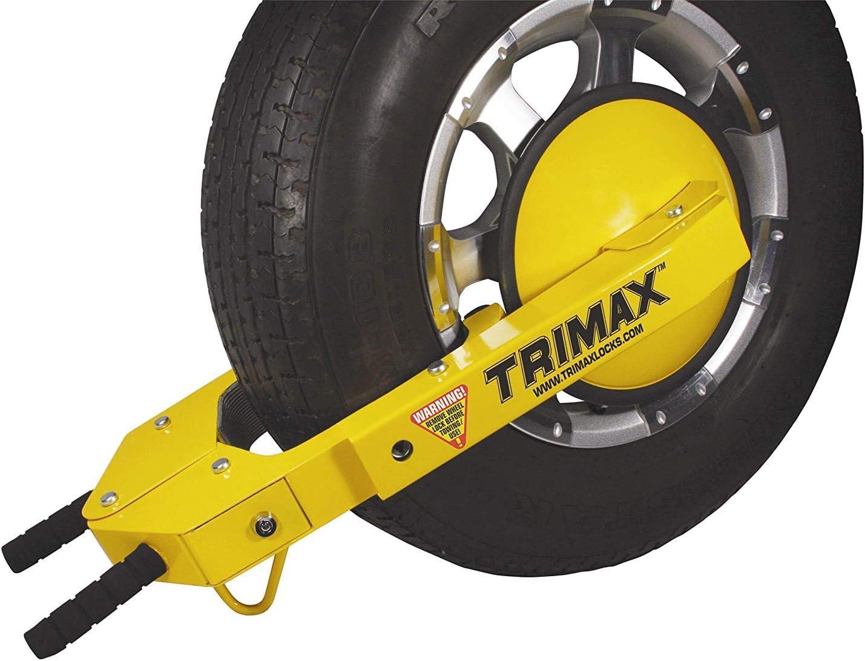 Trimax TWL400 Yellow Wheel Lock