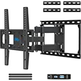 Mounting Dream TV Mount Full Motion TV Wall Mounts for 26-55 Inch Flat Screen TV, Wall Mount TV Bracket with Dual Arms, Max V