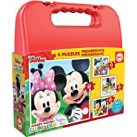 Educa Borras - Maleta Puzzles Progresivos Mickey Mouse