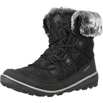 Columbia Women's Heavenly Shorty Omni-HEAT Winter Boot, Waterproof & Breathable | Snow Boots
