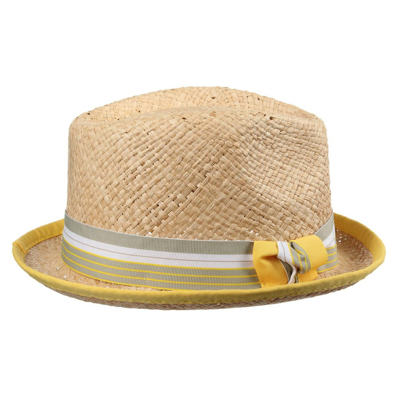 BEDACHT Mona Raffiatrilby Sommerhut Hüte Damen Strohhüte Damenhut