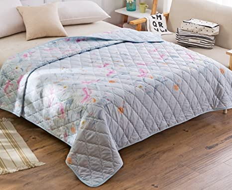 Zsshj Quilt Summer Air Conditioning Quilts Individual Double