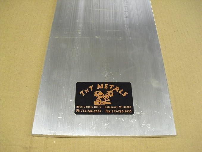 1//4 Aluminum 4 x 12 Bar Sheet Plate 6061-T6 Mill Finish
