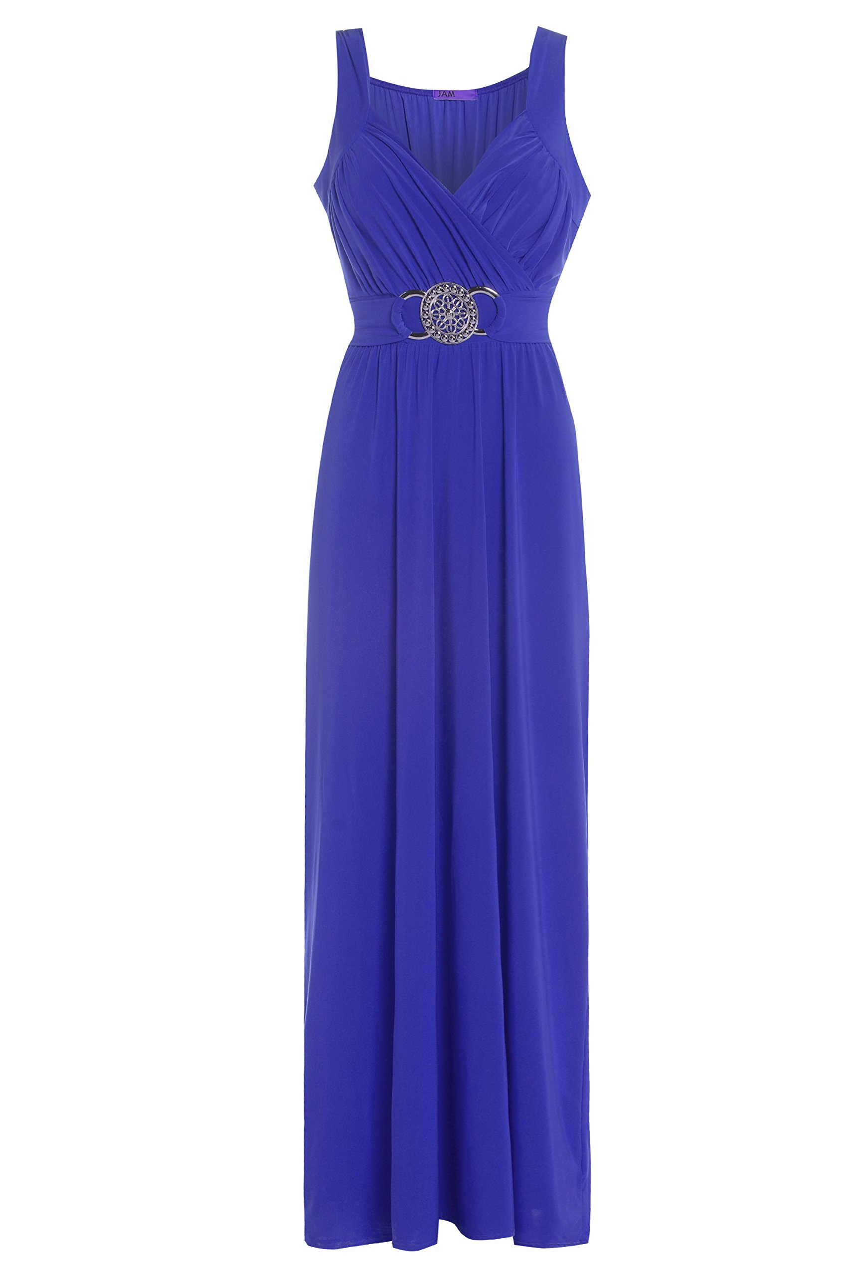 Evening Royal Blue Dress: Amazon.co.uk