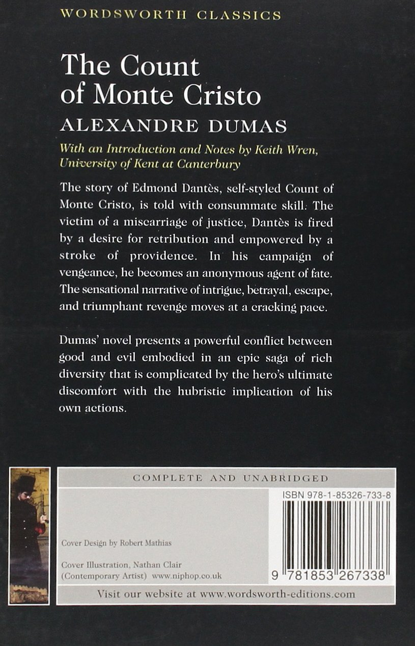com the count of monte cristo wordsworth classics  com the count of monte cristo wordsworth classics 9781853267338 alexandre dumas books