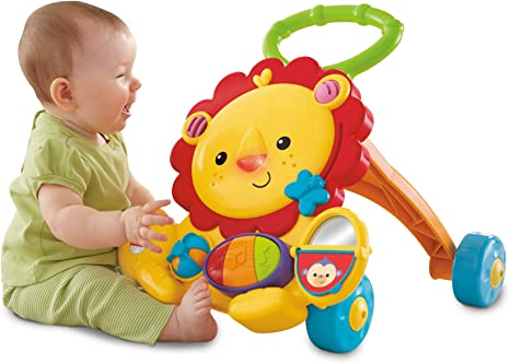 Amazon.com: Fisher-Price - Andador musical de león, Empaque ...