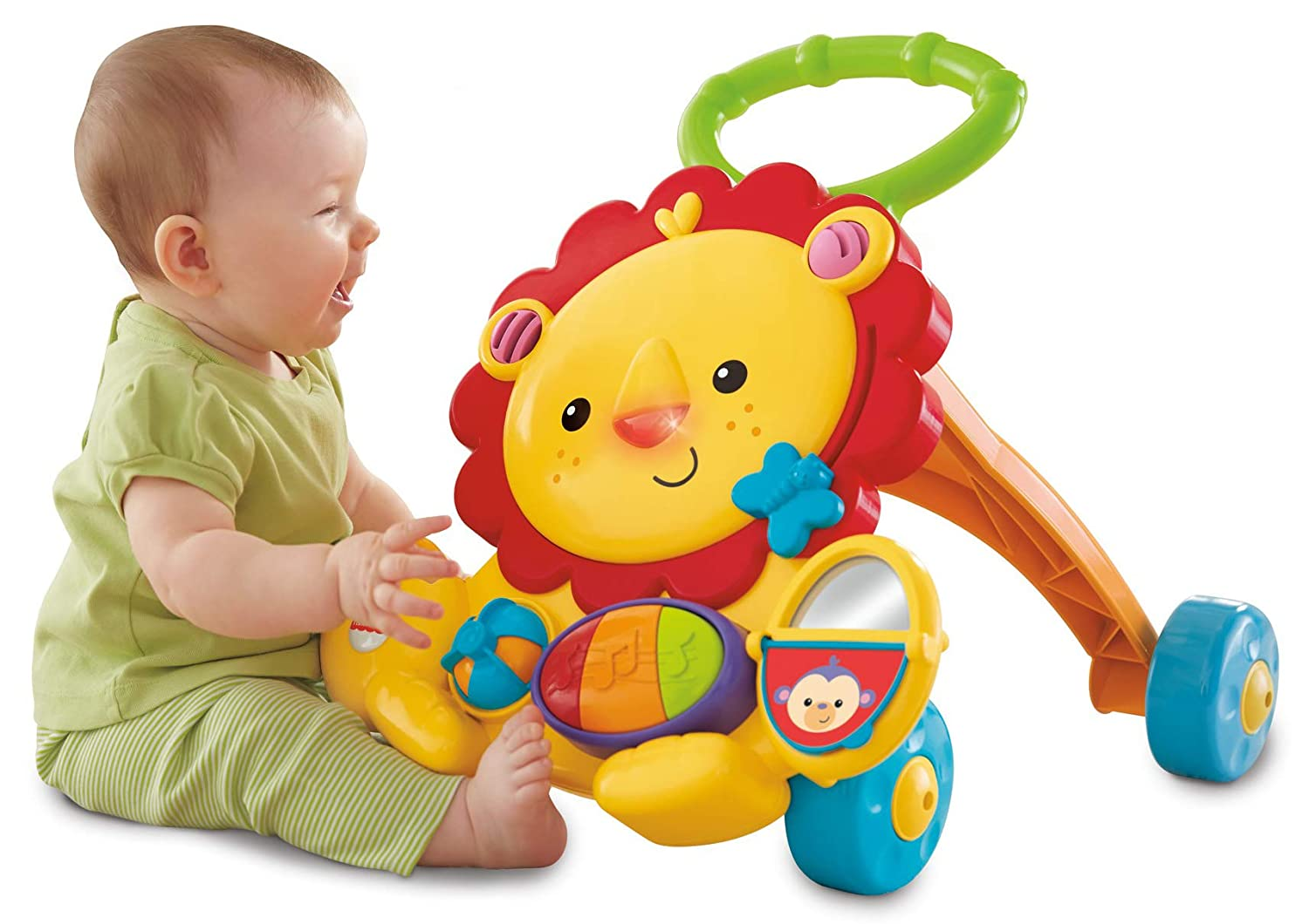 Fisher-Price - León Andador Musical (Mattel Y9854): Amazon.es ...