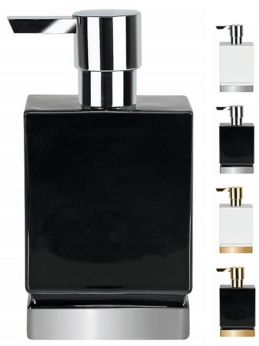 Dispensador de jab/ón l/íquido 17,0 x 4,5 x 9,0 cm Multicolor colecci/ón Roma Gres Spirella 17.0 X 4.5 X 9.0 Cm