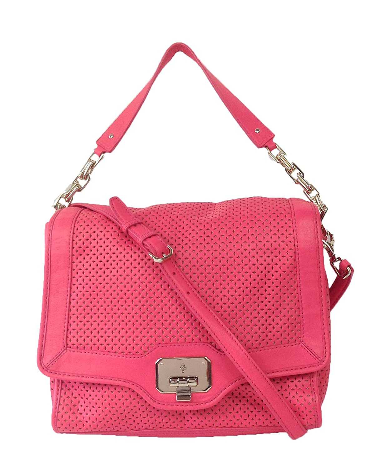 Cole Haan Vintage Valise Novelty Jenna Shoulder Bag, Punch Pink