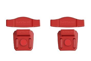 Tineer Propeller Fixel Padel Clip Soporte de Cuchilla Proteger Paddle Clip Kit para dji Mavic 2 Pro / Zoom Drone (Red 2)