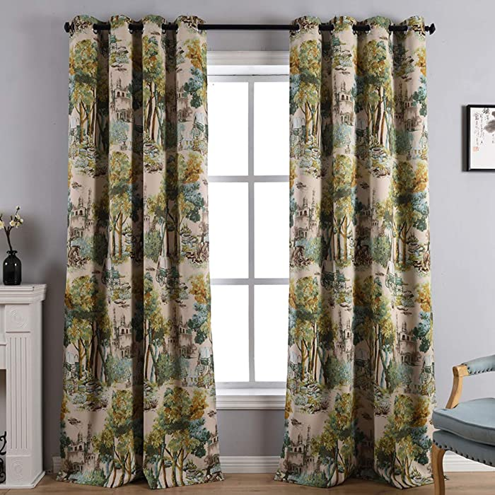 The Best Cumberland Nature Floral Curtains