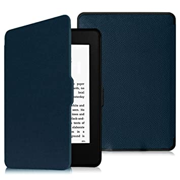 Onyx Black Kindle Paperwhite Leather Case not compatible with 2018 release 10th Generation