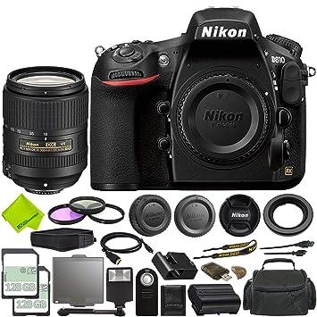Nikon D810 - Cámara réflex Digital (Solo Cadena) + Tarjeta de ...