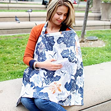 Amazing Bebe Au Lait Cotton Nursing Cover, Katori Intended Nursing Cover