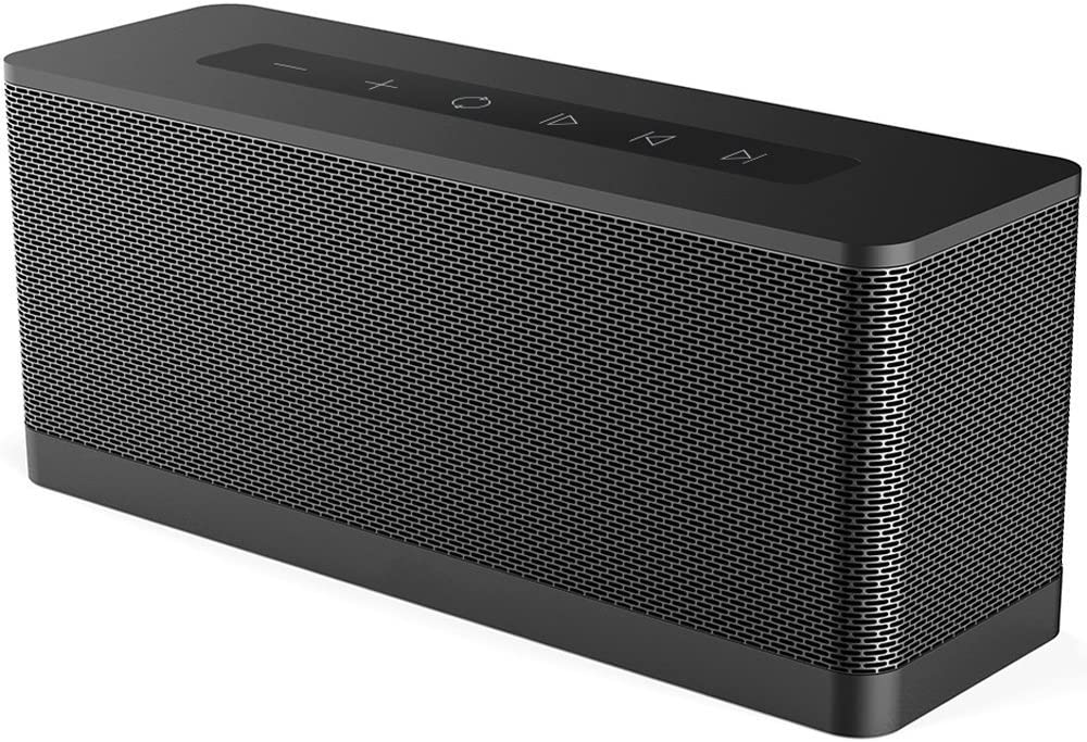 Meidong 3119 Bluetooth Speaker, 20W Portable Wireless Bluetooth 4.1 Speakers with Dual 10W Drivers Premium HD Sound and Powerful Bass Built in Microphone 12H playtime for iPhone, iPad, Samsung