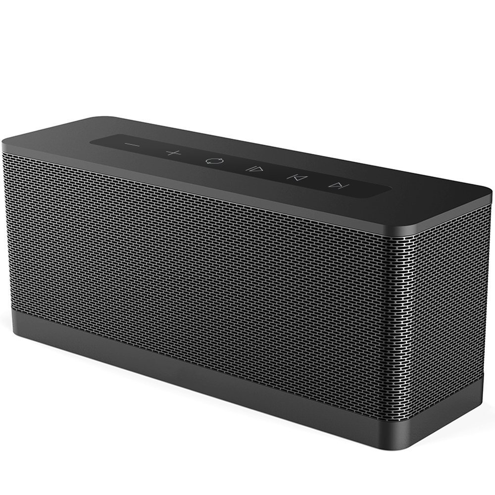 Meidong 3119 Bluetooth Speaker, 20W Portable Wireless Bluetooth 4.1 Speakers with Dual 10W Drivers Premium HD Sound and Powerful Bass Built in Microphone 12H playtime for Echo Dot, iPhone, Samsung by meidong