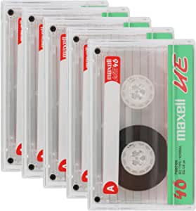 Maxell Set Of 5 UE Professional Cassettes 46 Minutes - UE-46SP5P