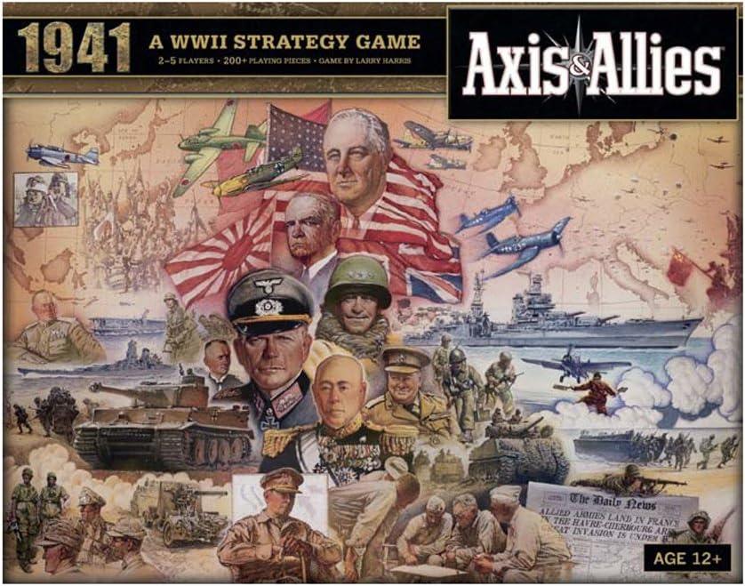 Wizards of the Coast 39687 Axis & Allies 1941 - Juego de Mesa ...