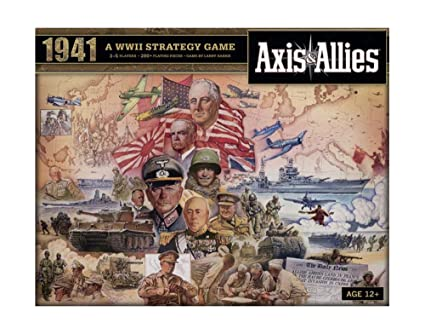 Wizards Of The Coast 39687 Axis Allies 1941 Juego De Mesa Sobre