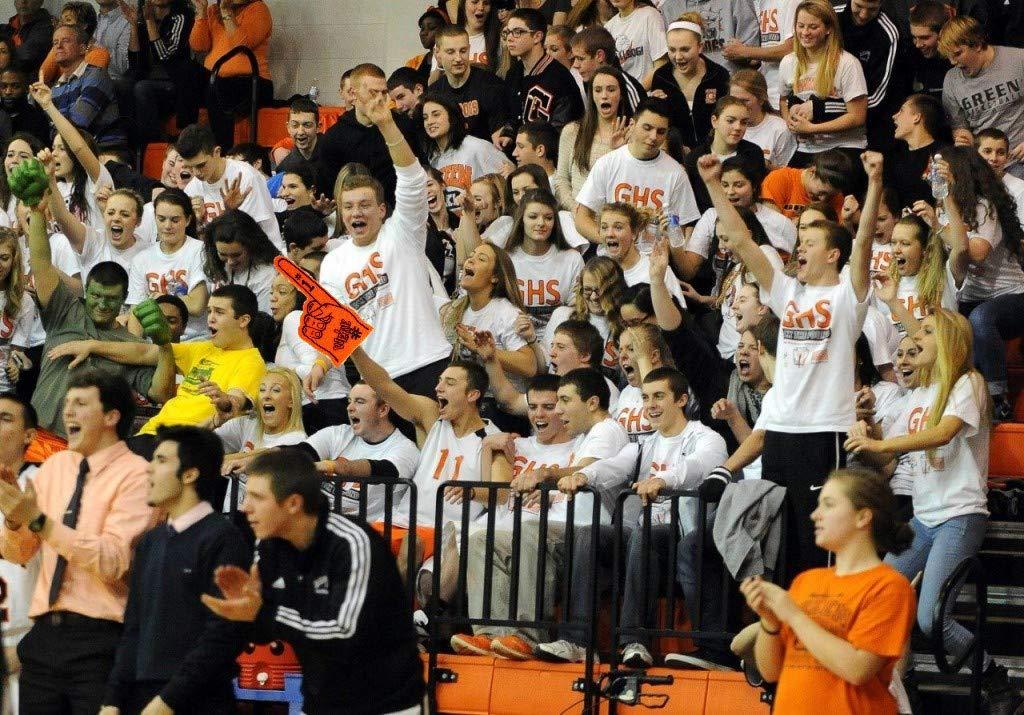 Astek 18 Were Number #1 Finger Team Color Cheerleading Foam Hand Pompom for Sports