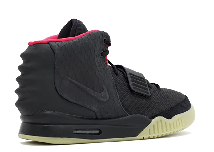 timeless design 9ac18 6a3ce NIKE Air Yeezy 2 NRG Black Solar Red Style # 508214-006