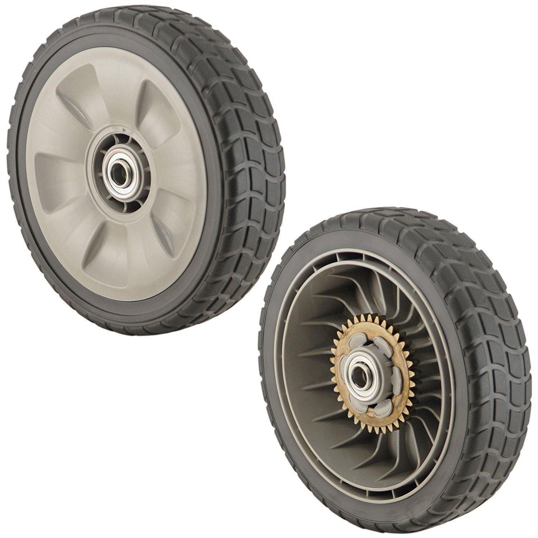 Amazon.com : Honda 42710-VE2-M02ZE (Replaces 42710-VE2-M01ZE) Lawn Mower  Rear Wheel Set of 2 : Garden & Outdoor