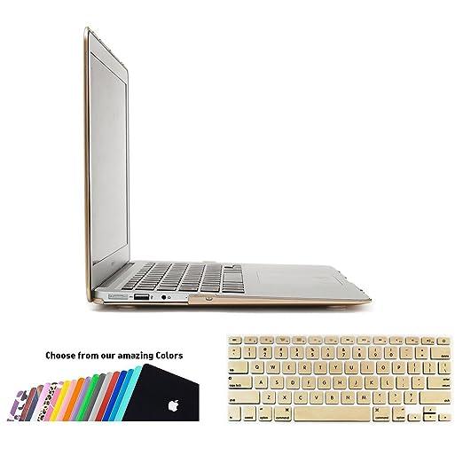 159 opinioni per Custodia MacBook Air 13 Cover- iNeseon 2 in 1 Plastica Cover Rigida Duro Caso,