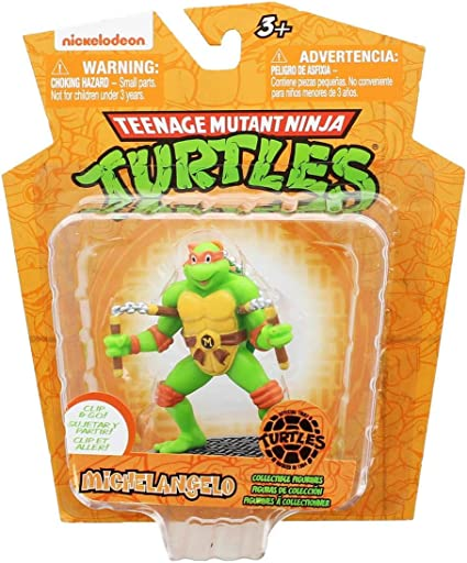 Amazon.com: Jamn Products Teenage Mutant Ninja Turtles 3in ...
