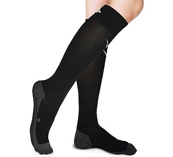 Graduado calcetines de compresión – alivia dolor en la pierna, aumentar la circulación, reducir