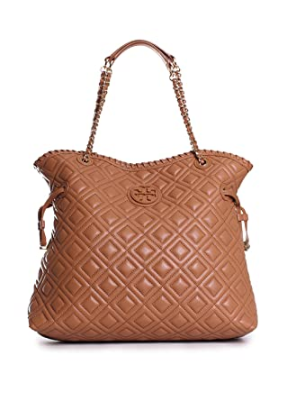 Amazon Tory Burch Marion Quilted Slouchy Tote Clothing
