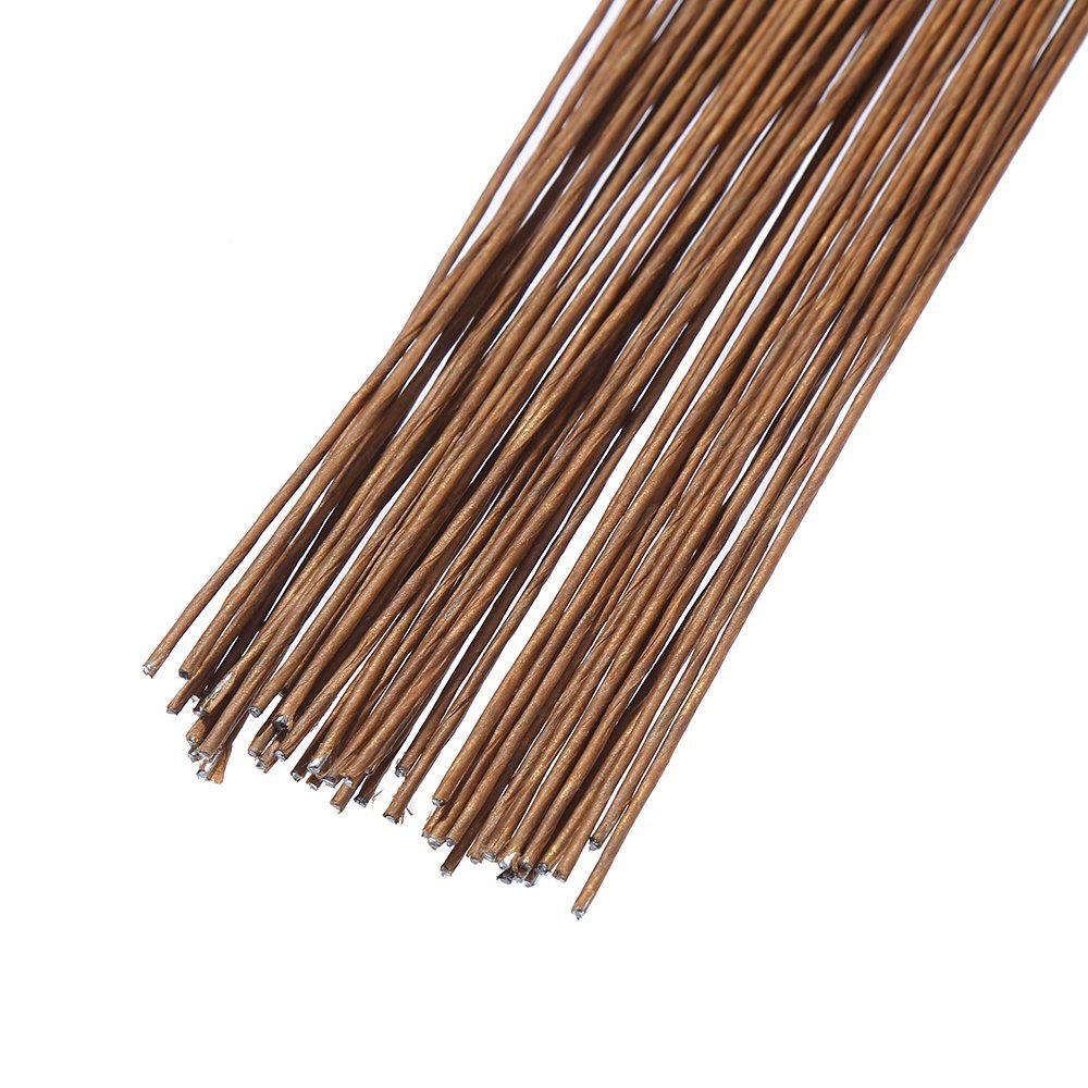 DECORA 18 Gauge Brown Floral Wire for Artificial Flower Making 16 inch,50//Package