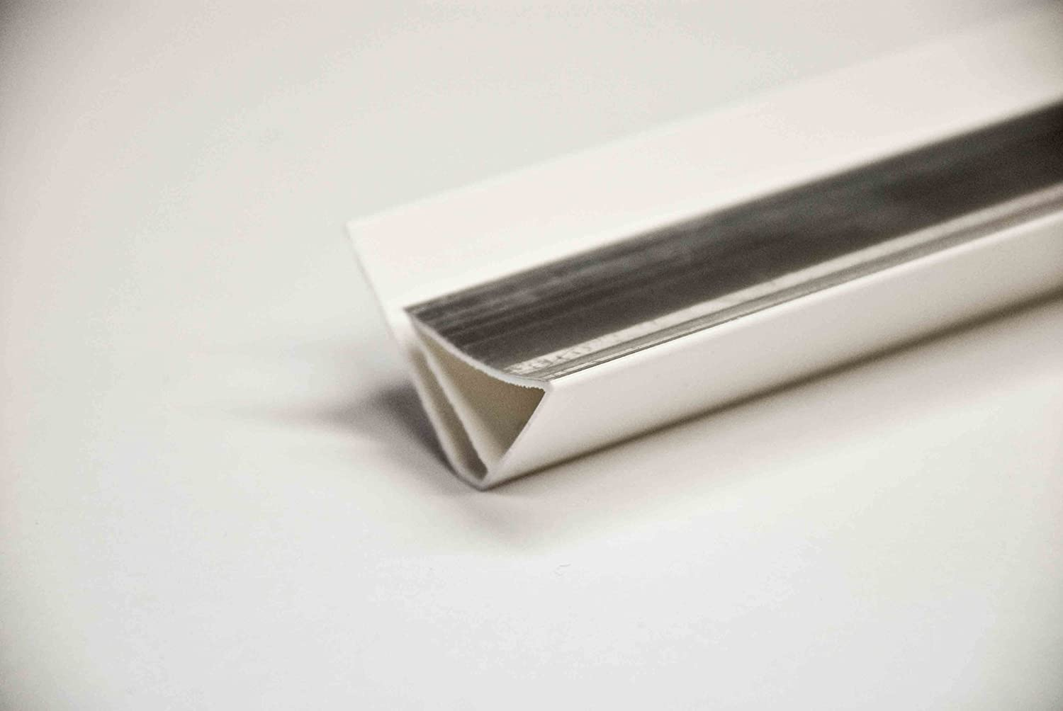 5mm WALL AND CEILNG PANELS SCOTIA CEILING TRIM IN SILVER. USED WITH ...