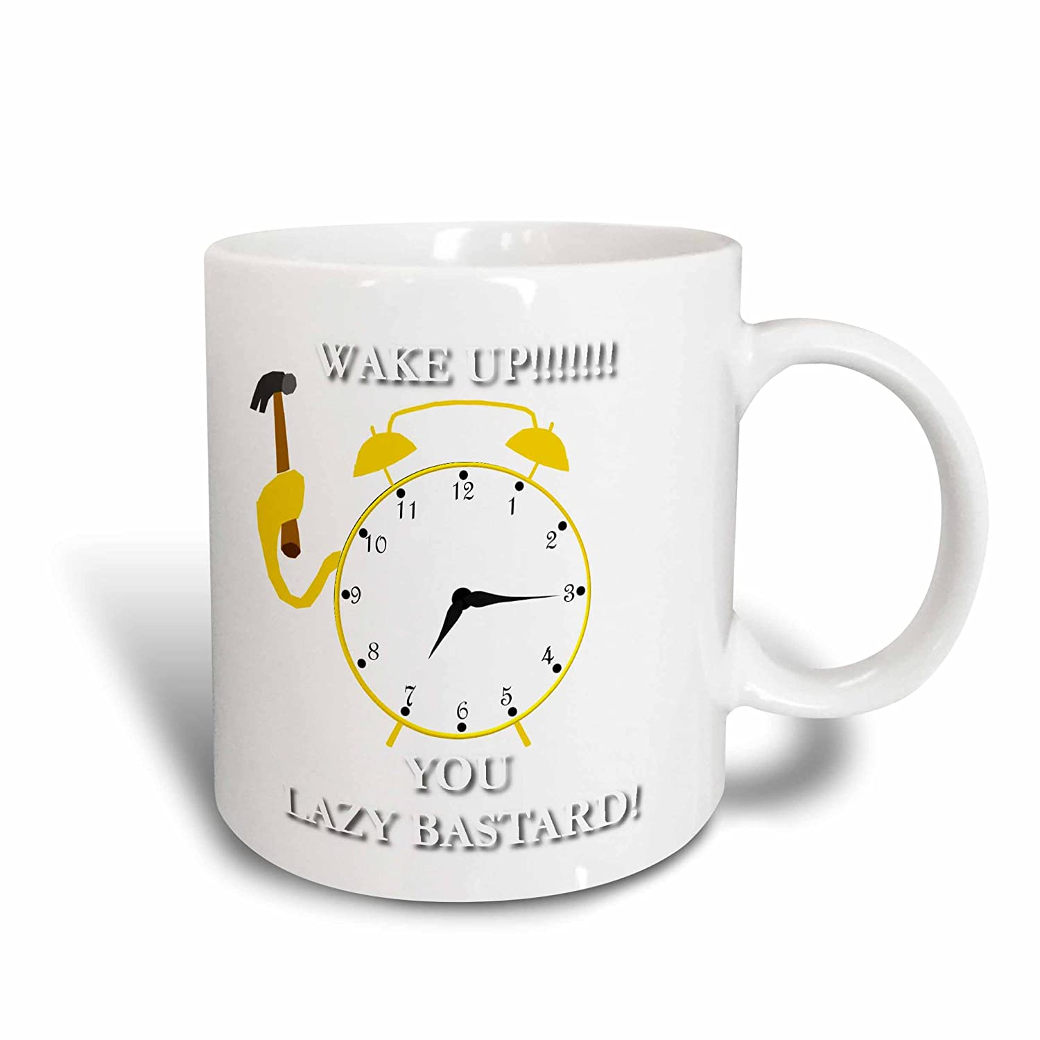 Buy 3drose Mug 36712 1 Alarm Clock Humor Ceramic Mug 11 Oz Multicolor Online At Low Prices In India Amazon In