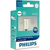 PHILIPS(フィリップス) ルームランプ LED T10 T10×31 G14 対応 6000K 60lm 12V 0.9W アルティノン Ultinon LEDシリーズ 1個入り 12957ULWX1